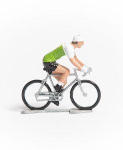 Brazil mini cyclist figurine