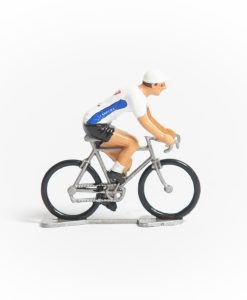 carrera mini cyclist figurine
