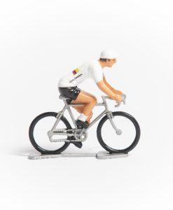 Columbia mini cyclist figurine