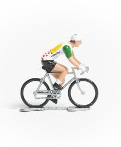 TDF Combined Jersey mini cyclist figurine