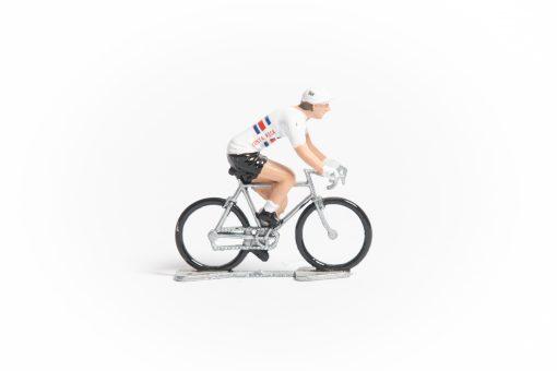 Costa Rica mini cyclist figurine