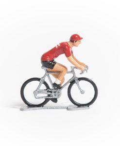 denmark mini cyclist figurine