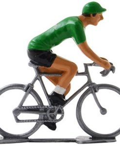 Europcar mini cyclist figurine