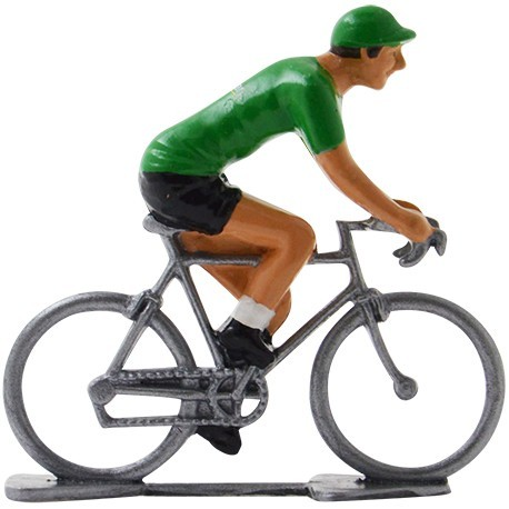 Europcar mini cyclist figurine