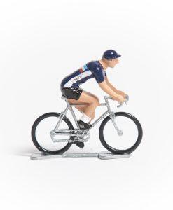France mini cyclist figurine
