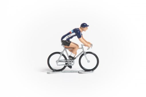 France mini cyclist figurine