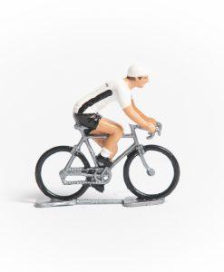germany mini cyclist figurine