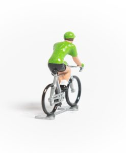 green jersey mini cyclist 2