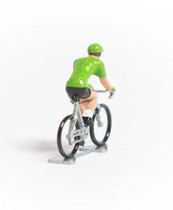 green jersey mini cyclist 2