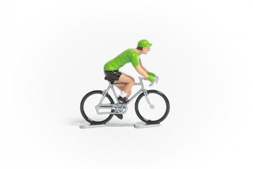 TDF Green Jersey mini cyclist figurine