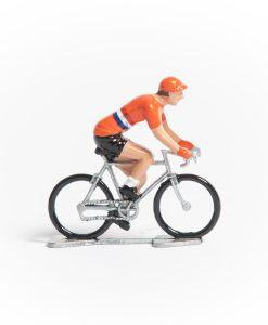 Holland mini cyclist figurine