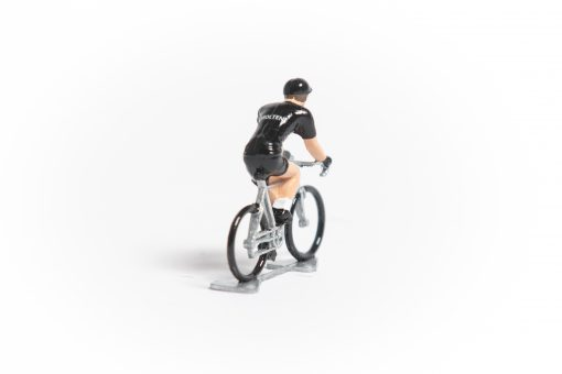 molteni black cycling figurine