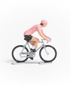 pink jersey mini cyclist