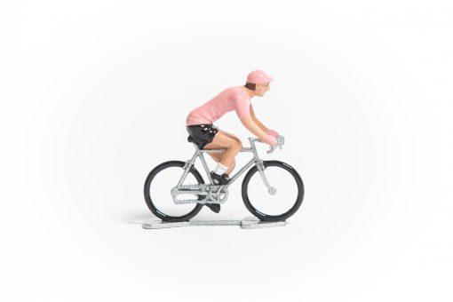 Giro Pink Jersey mini cyclist figurine