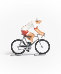 Poland mini cyclist figurine