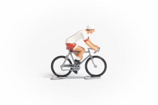 Poland mini cyclist figurine