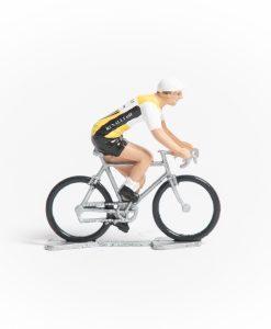 renault mini cyclist figurines