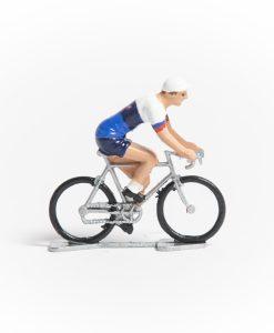 Slovakia mini cyclist figurine