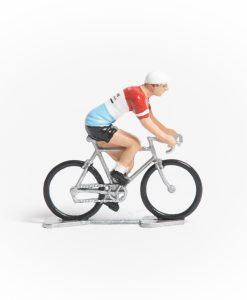 st raphael mini cyclist figurine