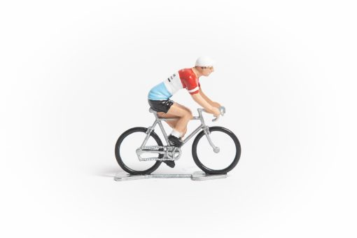 st raphael mini cyclist figurine