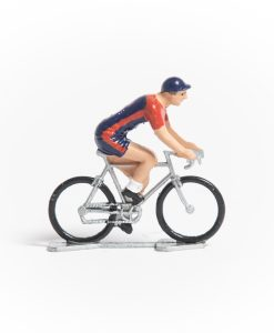 usa mini cyclist figurine