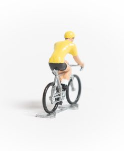 yellow jersey mini cyclist 2