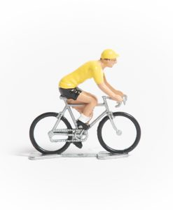 yellow jersey mini cyclist