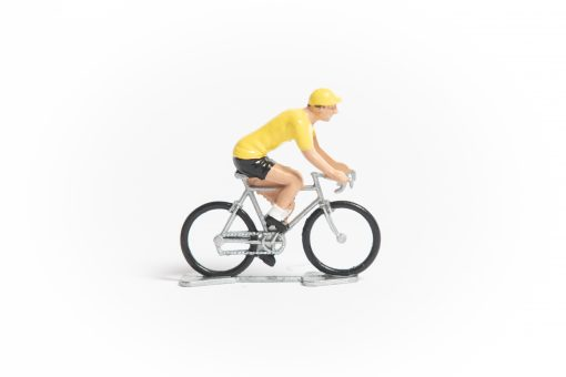 TDF Yellow Jersey mini cyclist figurine