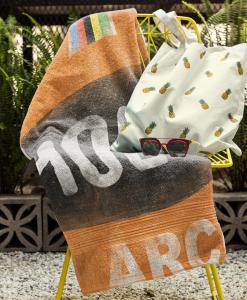 beach towel mock chair molteni