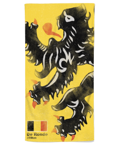 flanders lion beach towel