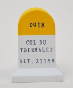 col du tourmalet marker souvenir