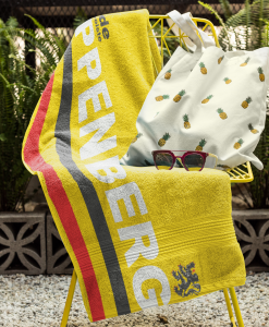 flanders towel on chair