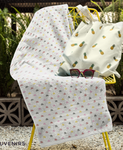 mini bikes towel on chair