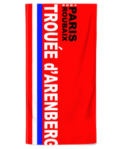 paris roubaix beach towel