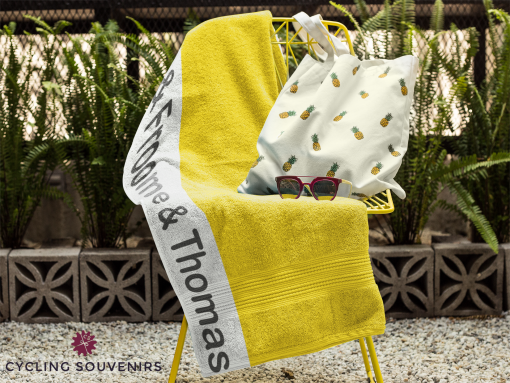 tour de france towel