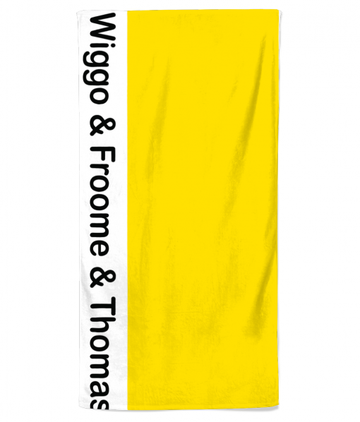 tour de france beach towel