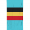 belgian flag beach towel
