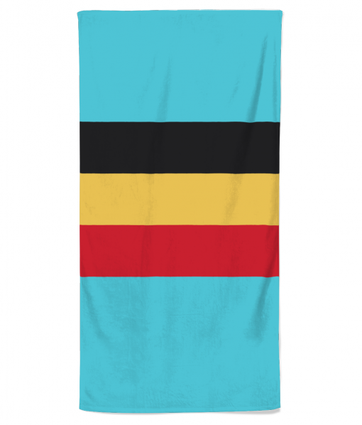 belgian flag beach towel