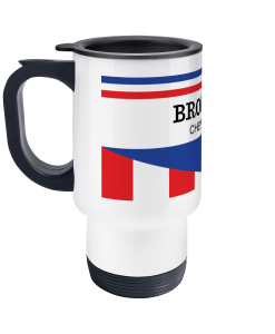 Brooklyn Chewing Gum travel mug