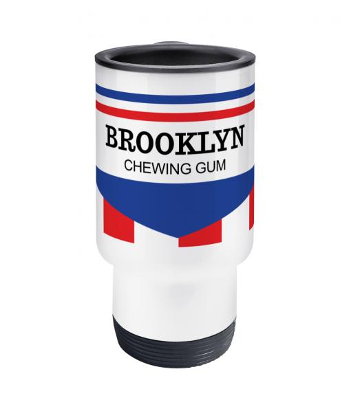 brooklyn cycling thermos mug