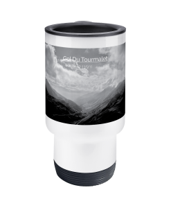 col du tourmalet scenery travel mug 2