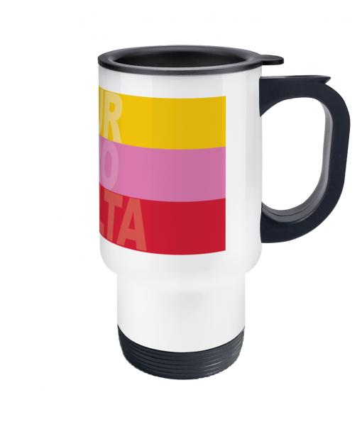 cycling grand tours thermos mug