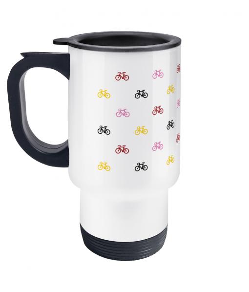 mini bikes travel mug