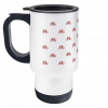mini bikes red travel mug