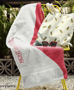 mont ventoux towel on chair