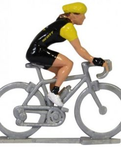 personalised female model cyclist figure