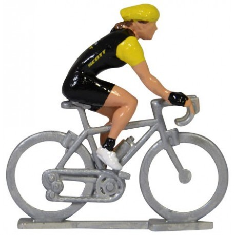 personalised female model cyclist figure