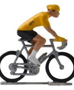 yellow jersey hi def mini cyclist