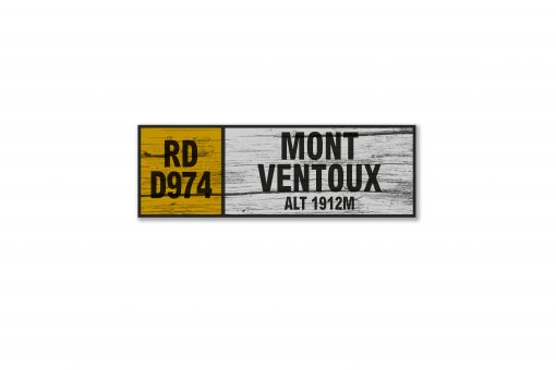 mont ventoux wall sign