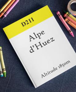 Alpe d'Huez notebook